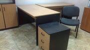 столы,  шкаф,  кресла,  тумба